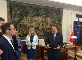 Депутати від «Батьківщини» зустрілися з спікером Сейму Польщі