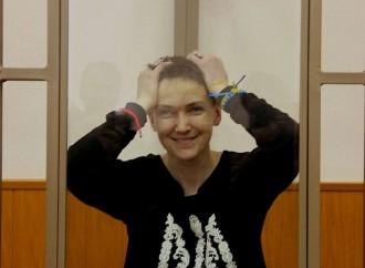 Надія Савченко: У вас, в Росії, людина – безправна!