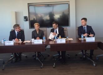 Юлія Тимошенко зустрілася з експертами Atlantic Council