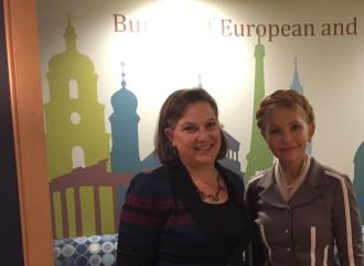 Юлія Тимошенко зустрілася із заступником держсекретаря США Вікторією Нуланд