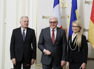 Юлія Тимошенко закликала Німеччину та Францію продовжувати зусилля з відновлення миру в Україні
