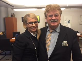 Юлія Тимошенко провела зустріч з Головою Комітету Європарламенту Елмаром Броком