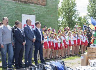 На Одещині «Батьківщина» влаштувала для дітей День спорту