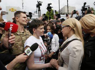 Незламна Надія Савченко – вже в Україні!