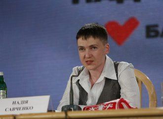Надія Савченко: Я вдячна «Батьківщині» за все і фракцію міняти не буду, 27.05.2016