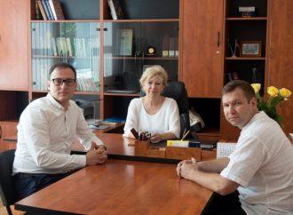 Олексій Рябчин вивчав проблеми освітньої галузі на Луганщині