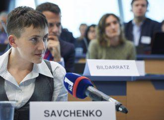 Надія Савченко виступила на круглому столі в ПАРЄ, 21.06.2016