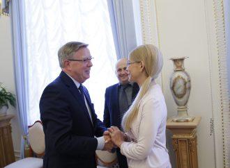 Юлія Тимошенко зустрілася з делегацією Європарламенту