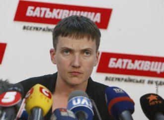 Надія Савченко на Прикарпатті: Я хочу витягнути хлопців з полону