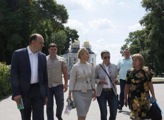 Юлія Тимошенко перебуває на Чернігівщині з робочим візитом