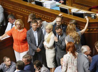 Юлія Тимошенко: Необхідно розробляти антикризову концепцію