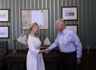 Юлія Тимошенко зустрілася з Губернатором Каліфорнії