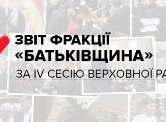 «Батьківщина» звітує перед Україною
