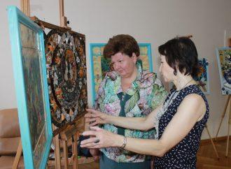 Анжеліка Лабунська відвідала виставку творчих робіт студентів