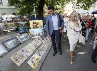 Візит Юлії Тимошенко до Львова, 16.09.2016