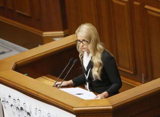 Юлія Тимошенко: Новий закон про електроенергію легалізує мегакорупцію в енергетиці, 22.09.2016