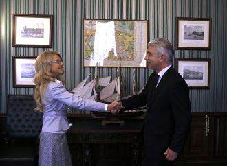 Юлія Тимошенко зустрілася з Послом Німеччини
