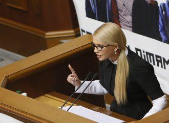 Закон про спецконфіскацію легалізує корупцію в бюджеті України, - Юлія Тимошенко