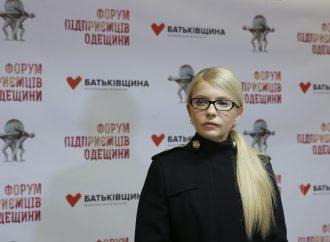 «Батьківщина» об'єднає підприємців усієї країни, - Юлія Тимошенко
