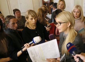 Юлія Тимошенко: Влада продовжує надавати преференції кланам