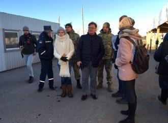 Григорій Немиря відвідав КПВВ «Станиця Луганська»