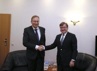 Григорій Немиря зустрівся з представником МЗС Німеччини