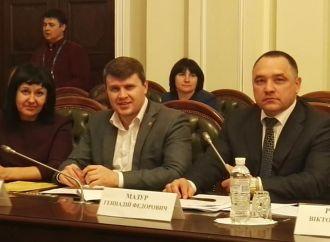 Депутат від «Батьківщини» з Вінниччини взяв участь у слуханнях з питань функціонування ДЮСШ