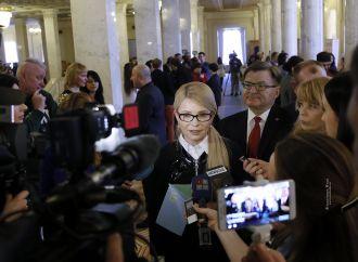 Так звана більшість намагається корупційними нормами нашпигувати правильні закони, – Юлія Тимошенко
