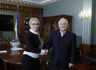 Юлія Тимошенко зустрілася зі Спеціальним представником діючого голови ОБСЄ