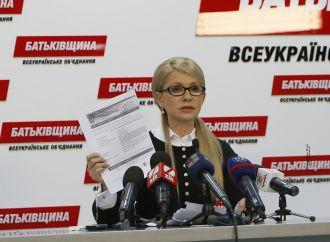 Прес-конференція Юлії Тимошенко, 13.02.2017