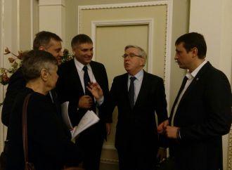 Вадим Івченко та Валерій Дубіль взяли участь у зустрічі з Петом Коксом