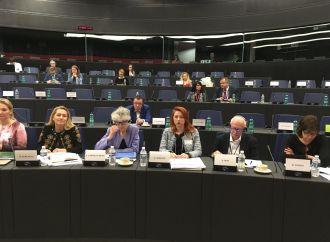 Альона Шкрум бере участь у засіданні Парламентського комітету асоціації Європарламенту