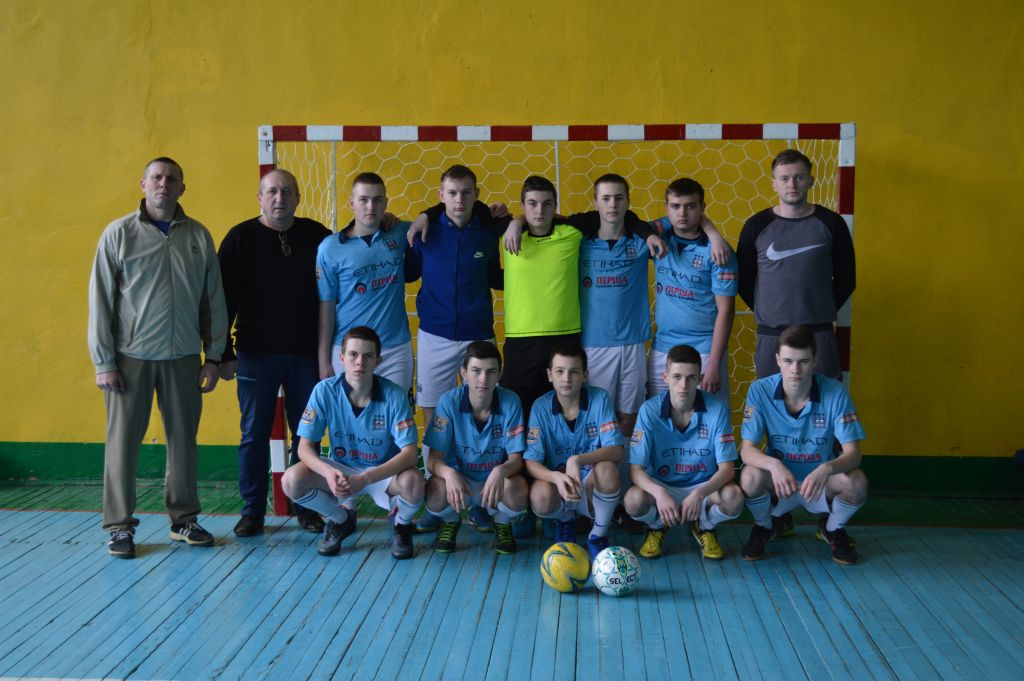 футбол Волочиськ