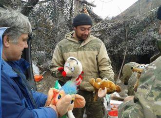 Харківський волонтер-«батьківщинівець» відвіз чергову партію гуманітарної допомоги на Донбас