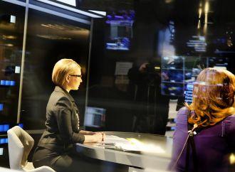 Юлія Тимошенко під час ефіру на телеканалі «112 Україна», 10.04.2017