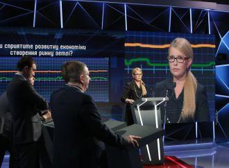 Юлія Тимошенко у програмі «Свобода слова» на ICTV, 10.04.2017
