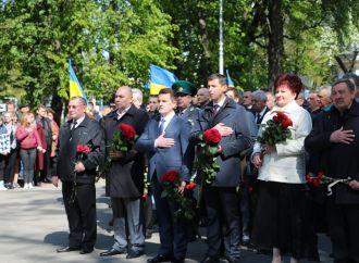 У Черкасах партійці вшанували ліквідаторів аварії на Чорнобильській АЕС