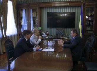 Юлія Тимошенко провела зустріч з Послом Угорщини Ерно Кешкенєм, 12.05.2017