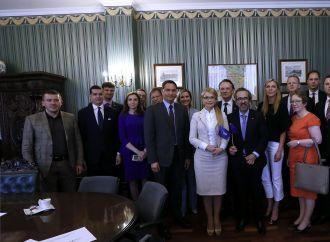 Юлія Тимошенко зустрілася з делегацією Європейської народної партії