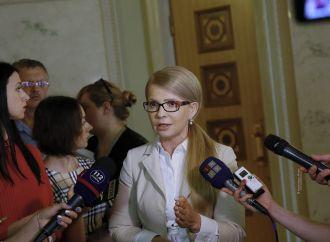 «Батьківщина» вимагає звіту президента та уряду за розвал України
