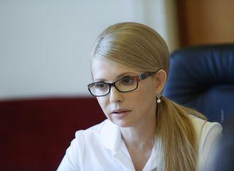 Юлія Тимошенко: Законопроекти від влади виводять корупцію в ранг закону, 22.06.2017