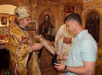 Черкаський партієць отримав відзнаку від УПЦ Київського Патріархату