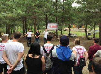 На Київщині відбулось таборування центральних обласних організацій «Батьківщини Молодої»