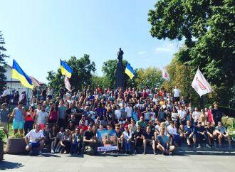 «Батьківщина Молода» провела у Каневі патріотичне таборування