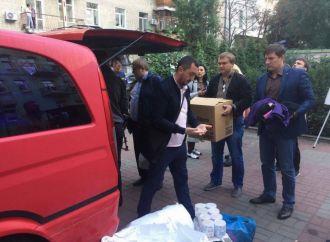 «Батьківщина» продовжує збирати допомогу постраждалим від вибухів у Калинівці (оновлено)