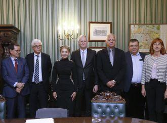 Юлія Тимошенко зустрілася з представниками Міжнародної антикорупційної консультативної ради