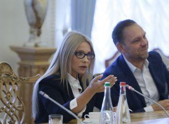 Юлія Тимошенко зустрілася з керівником програми Європарламенту Петом Коксом, 14.09.2017