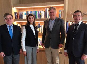 Григорій Немиря зустрівся з Генеральним секретарем ЄНП