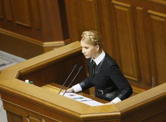 Юлія Тимошенко: Порошенко дав команду завадити «Батьківщині» провести з'їзд партії