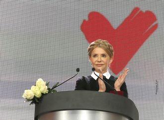 Юлія Тимошенко: Кожен третій українець голосує за «Батьківщину»